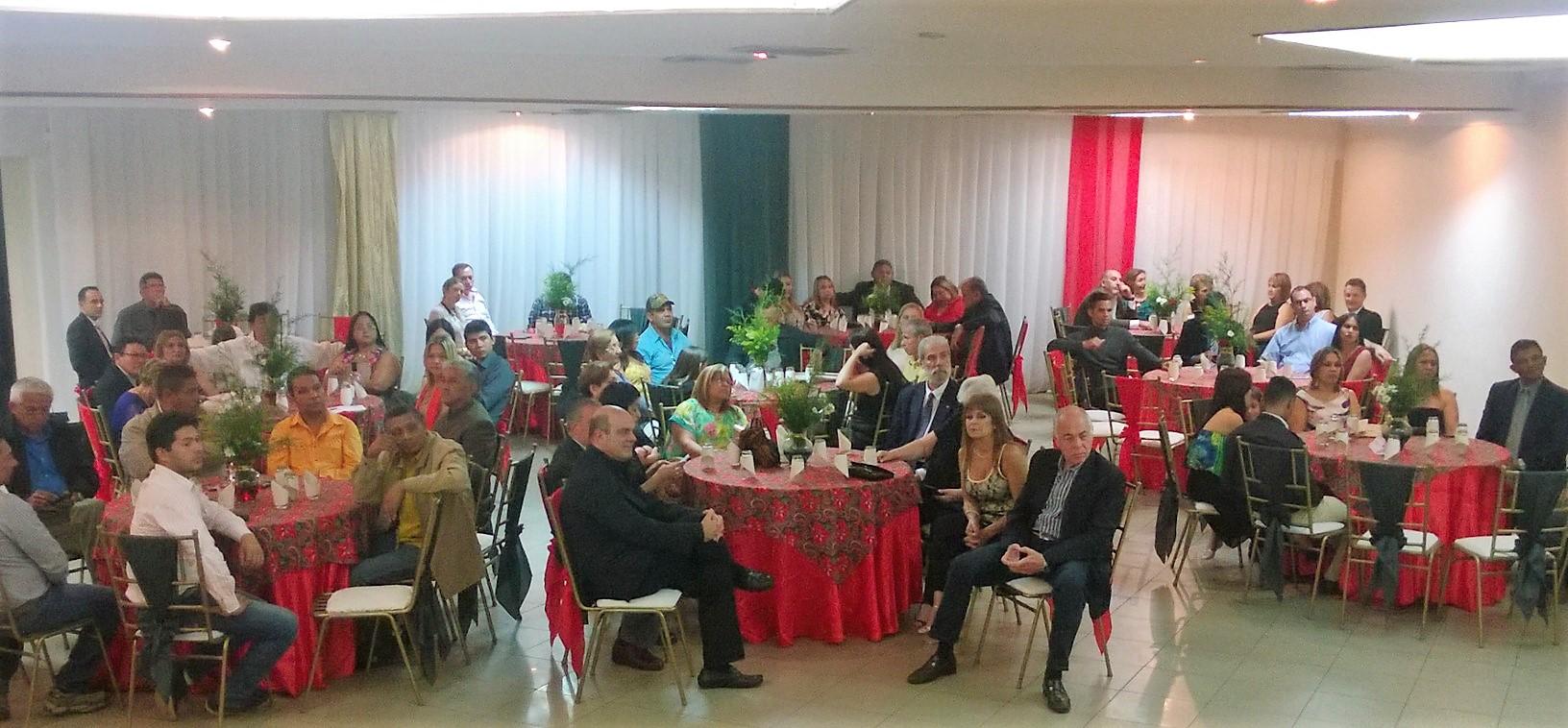 Cámara de Comercio de Valle de la Pascua  realizó cena anual