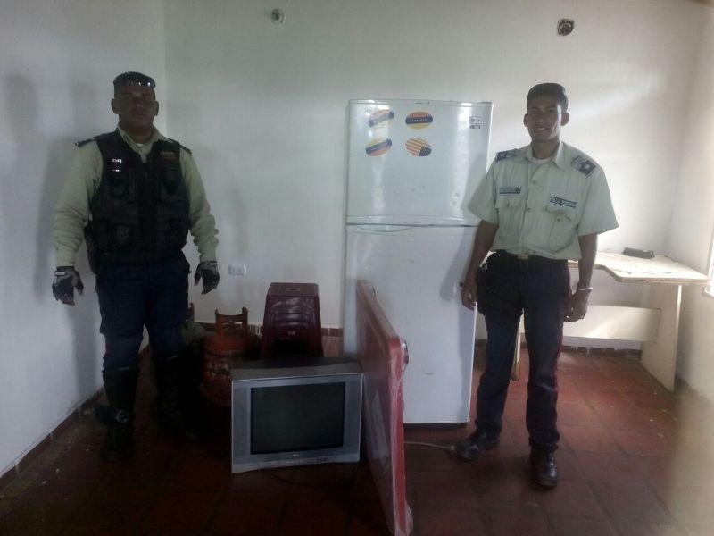 Iapatmi localizó electrodomésticos en zona boscosa de El Palmar
