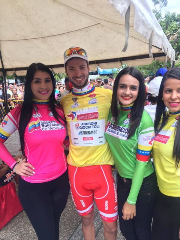 Raffaello Bonusi lidera la Vuelta al Táchira tras imponerse en la primera etapa