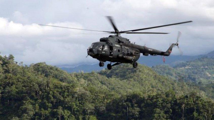 Gobierno  desmiente hallazgo de helicóptero perdido en Amazonas