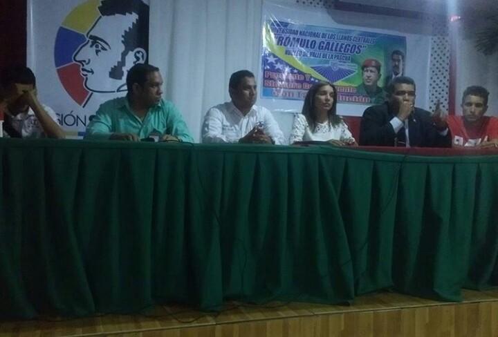 Universidades de Infante crean Frente a favor del Vicepresidente Tareck El Aissami