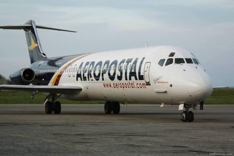 Hombre amenazó con dinamitar avion de Aeropostal