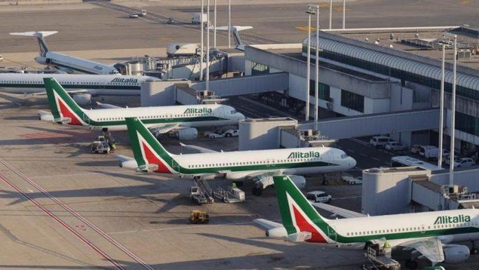 La aerolínea italiana Alitalia