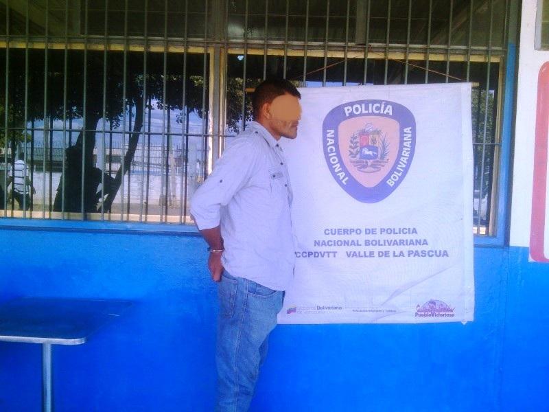 PNB capturo hombre solicitado por robo en Valle de la Pascua(Guarico)