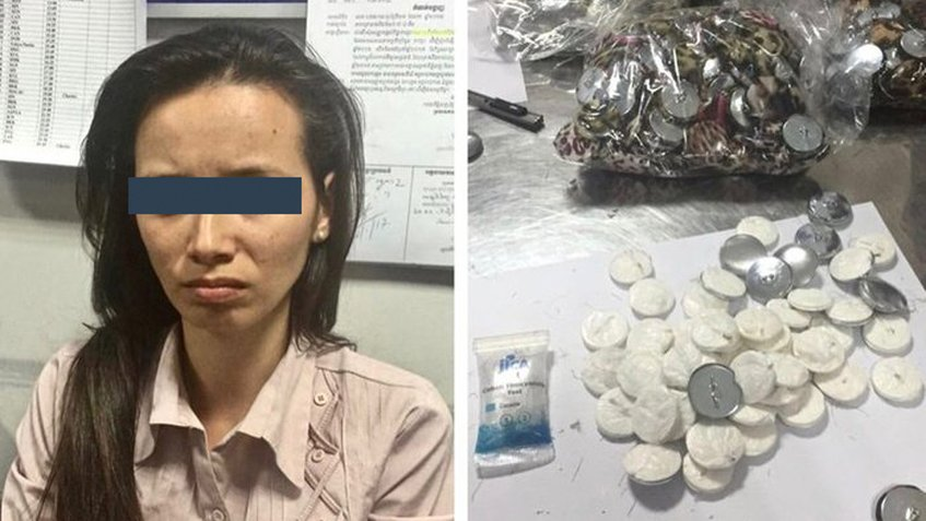 Capturan a venezolana tratando de ingresar droga en Camboya