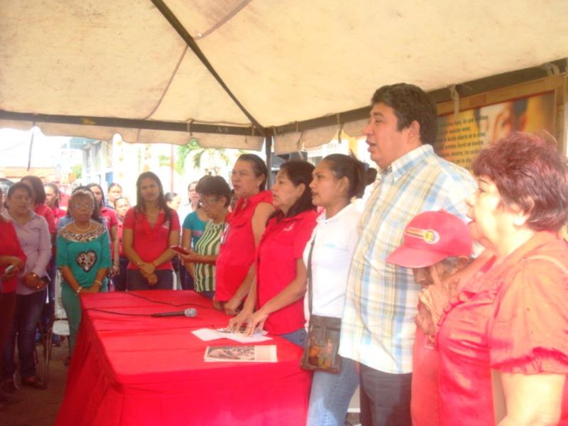 Celebrado Dia Internacional de la Mujer con caminata y programa de radio en las Mercedes del Llano