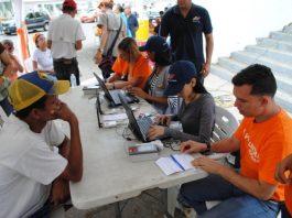 firmas en Gúarico de Voluntad Popular
