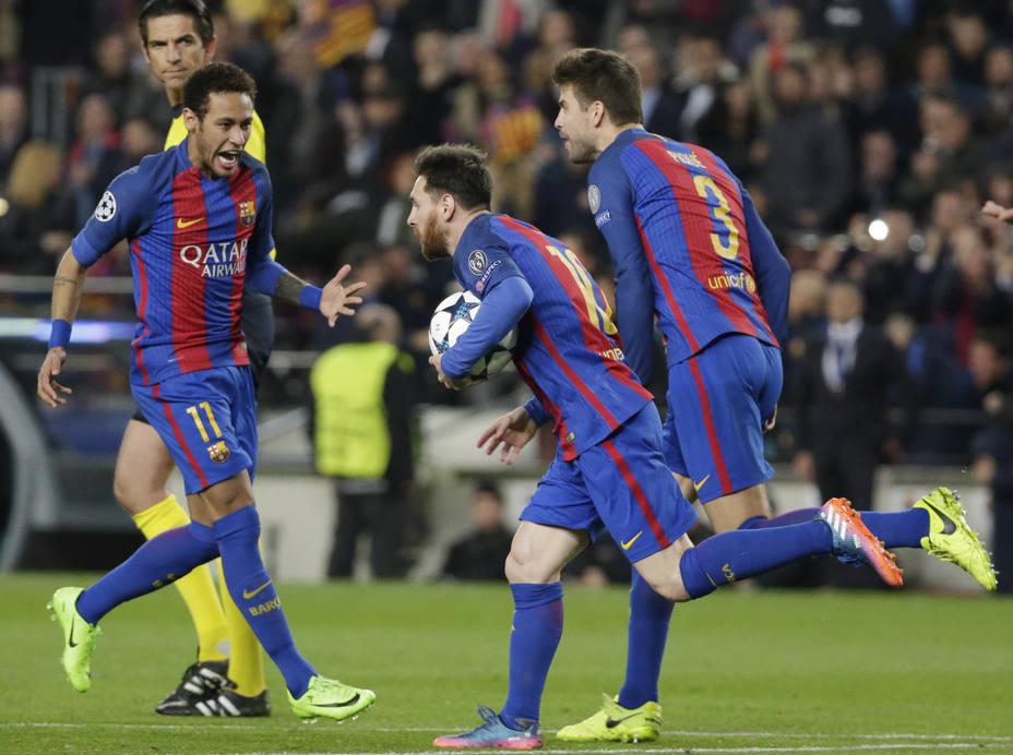El Barcelona logró la mayor remontada de la historia del fútbol europeo