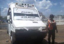 unidad de transporte público viola ordenanza