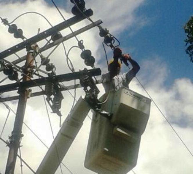 Sábado 13 de mayo, corte programado de energía en el municipio Infante