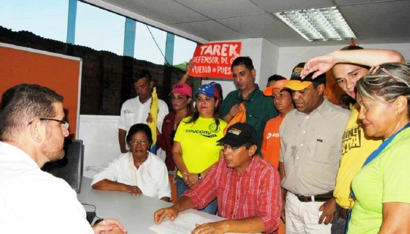 Marcha opositora llegó hasta la Defensoría del Pueblo en La Pascua