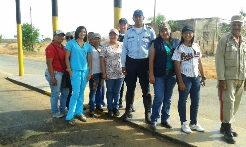 Desplegados en operativo Semana Santa Segura 2017 en las Mercedes del Llano