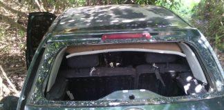 Vehículo abandonado