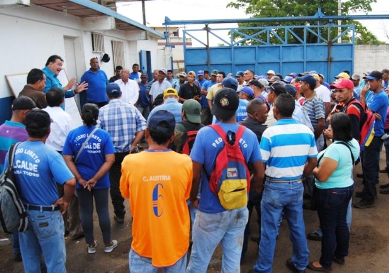 Alcalde Pedro Loreto anuncia aumento general de 39 %
