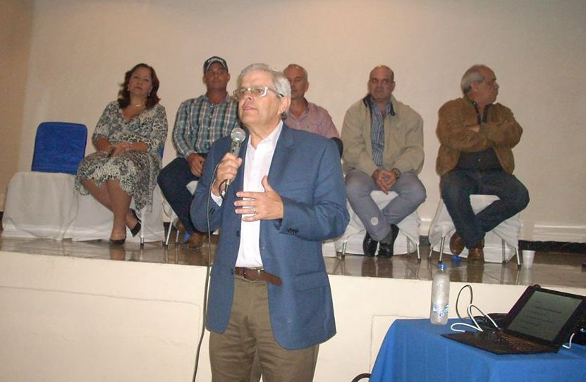 Carlos Larrazábal, vicepresidente de Fedecámaras, ofreció importante conferencia en Valle de la Pascua