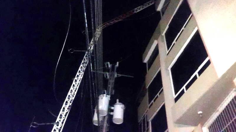 Cuadrillas de Valle de la Pascua solventaron avería eléctrica