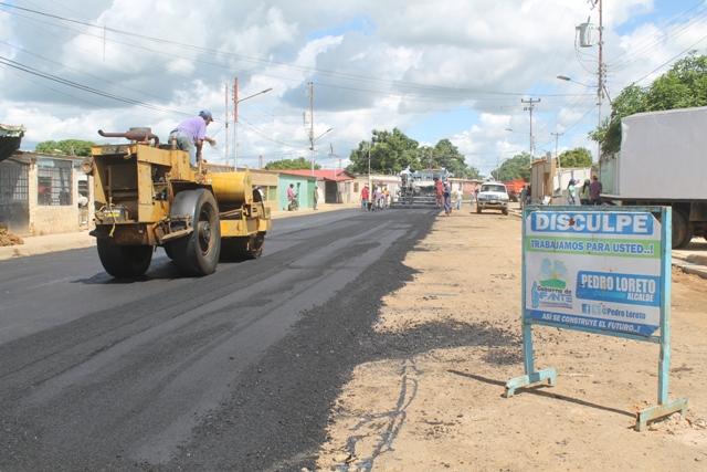Continúa trabajos de rehabilitación vial en varios sectores