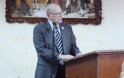 El Día del Abogado se engalanó con la visita del Dr. Román José Duque Corredor Ex Magistrado del TSJ